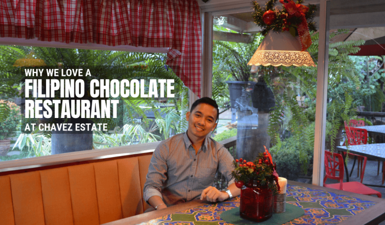 Why We Love a Filipino Chocolate Restaurant at Chavez Estate