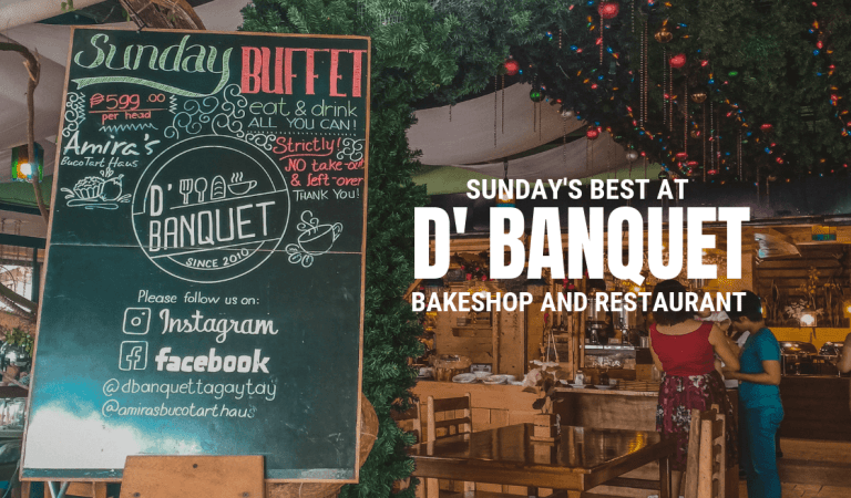 Sunday's Best at D' Banquet Bakeshop and Restaurant