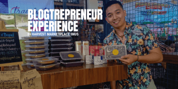 BlogTrepreneur Experience in Harvest Marketplace Imus