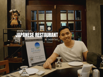 Where to Eat Japanese Restaurant in Tagaytay