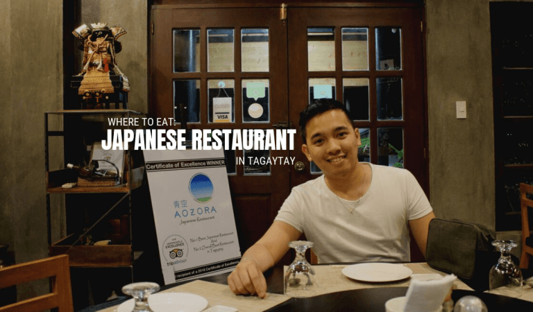 Where to Eat: Japanese Restaurant in Tagaytay