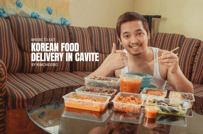 What to Eat: Korean Food Delivery in Cavite by Kimchidobo