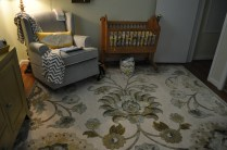 We found this rug at Home Depot of all places!