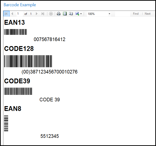 How Do I: Print Barcodes in RDLC?