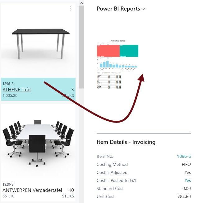 How Do I: Add and Link a Power BI Report to a page in Business Central?