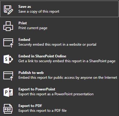 Power BI: Export to PDF and On-Demand E-Mail Subscriptions