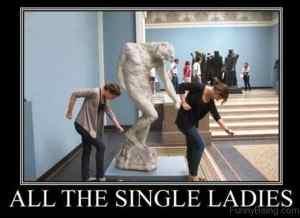 single ladies meme