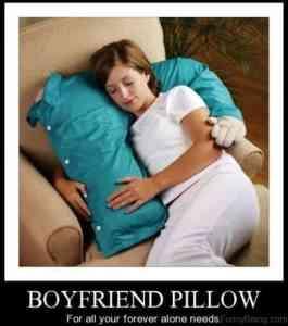 boyfriend pillow meme