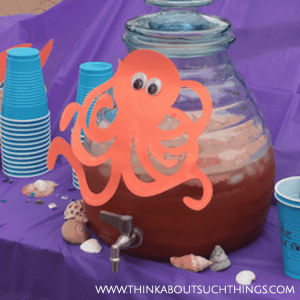 Under the Sea Party Theme punch