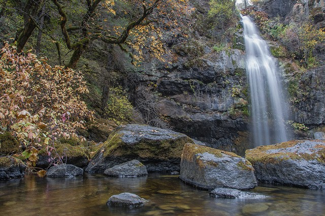 Waterfalls of northern california potem falls