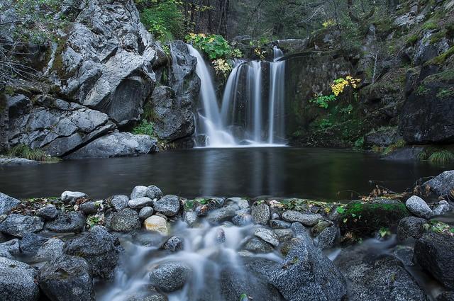 waterfalls of northern california crystal creek falls