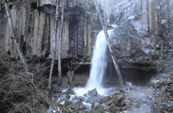 Waterfalls in Northern California Hedge Creek Falls