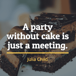 quotes about food julia child