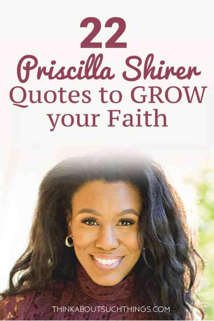 Priscilla Shirer quotes