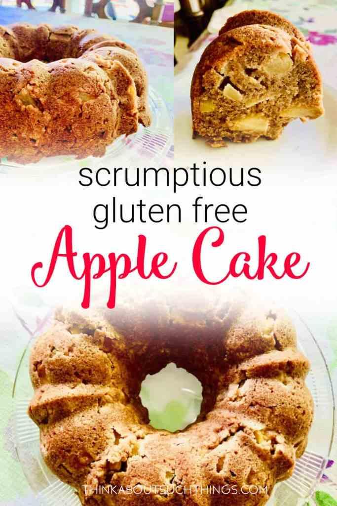 dairy free Gluten Free apple cake