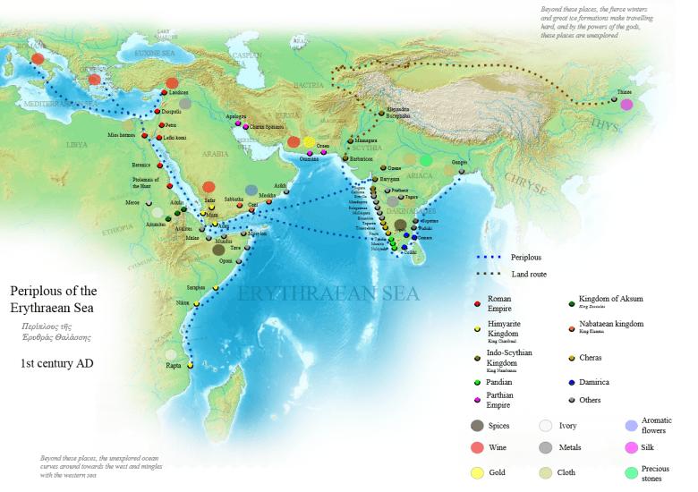 Periplous of the Erythraean Sea (English version)