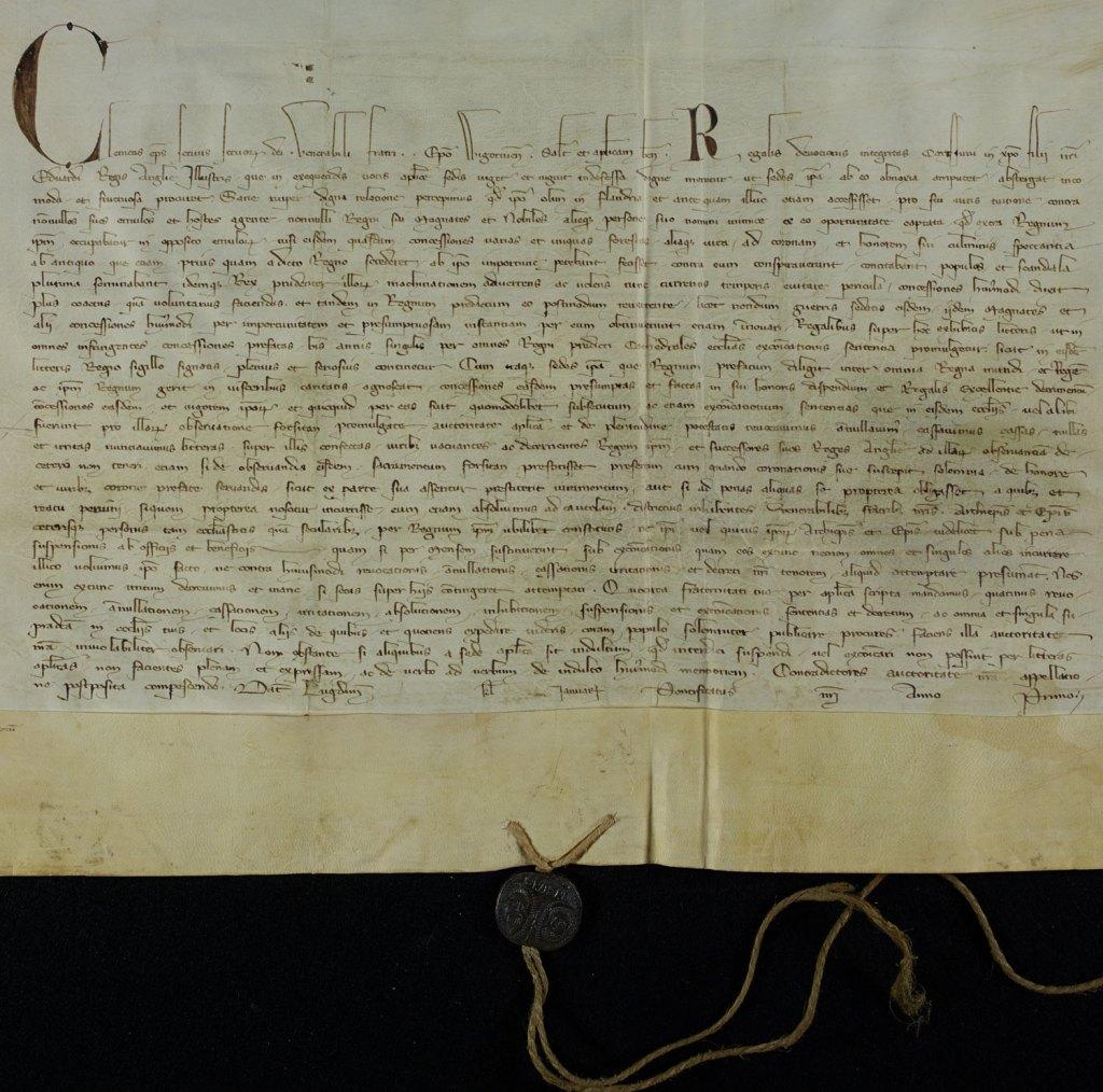 papal bull 1306