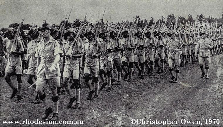 rhodesian african rifles_troops1970