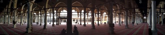Rashidun Mosque_of_Amr_(panorama)