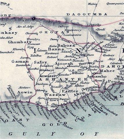 Yaa Asanteewaa Asante_map19th century