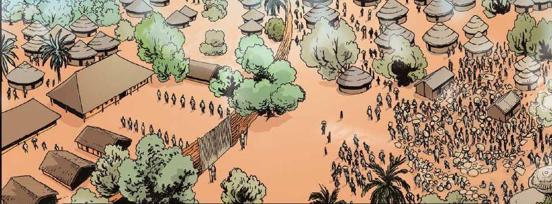 dahomey - Palace of King Houegbadja 1645-1680 pic1