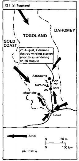german west africa schutztruppe - togoland 1914