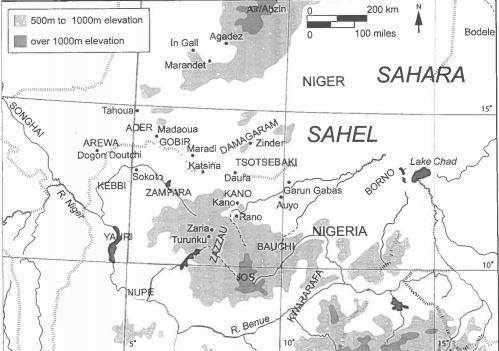 hausa states - map.JPG