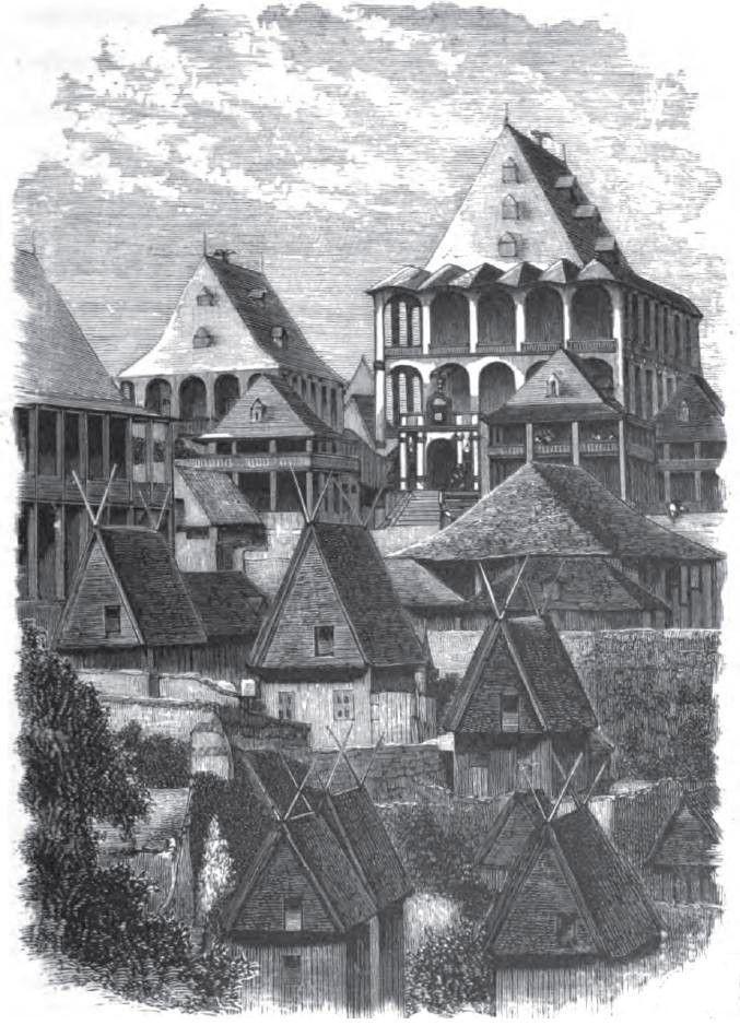 merina - wooden palace of Ranavalona I
