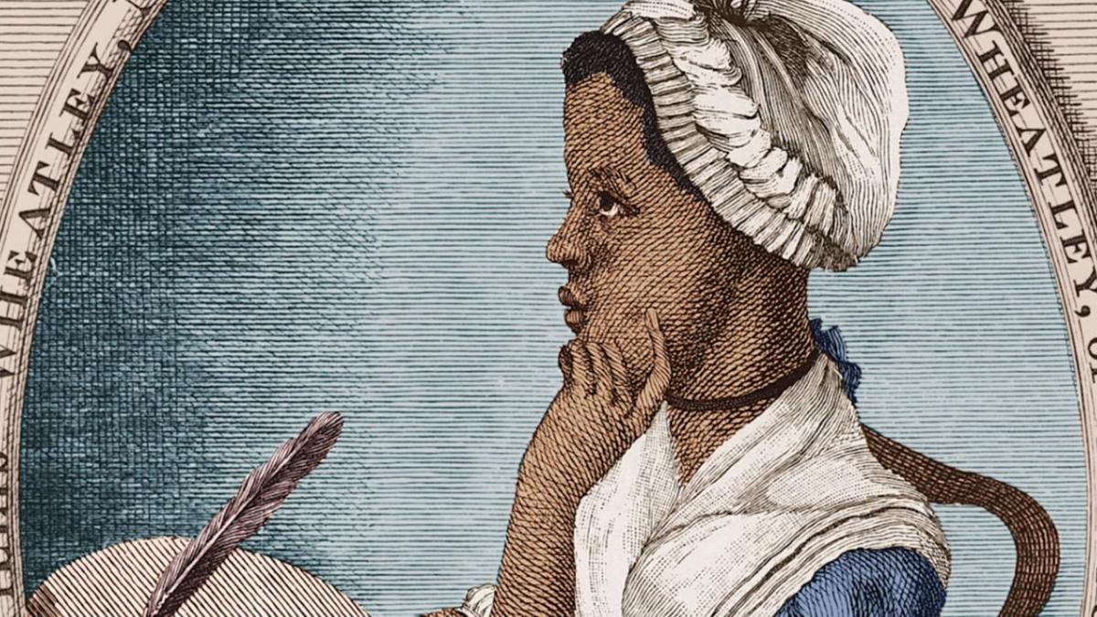 Phillis Wheatley - pic1 - print portrait