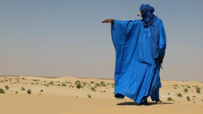 Tin Hinan - blue fashion