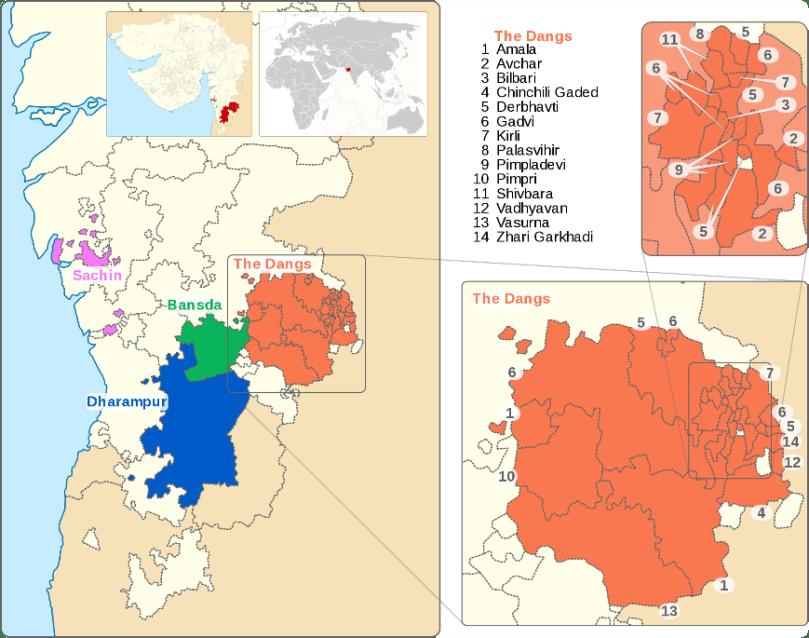 Location of Sachin
