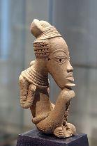 African Nok sculpture