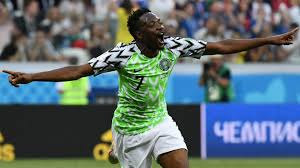Nigerian International, Ahmed Musa