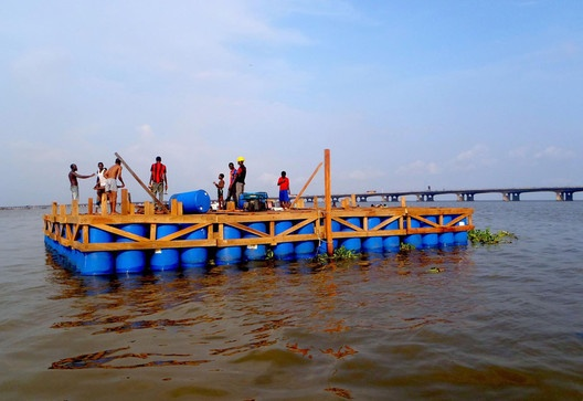 Makoko Floating School / NLÉ,Makoko Floating School © NLÉ architectsMakoko Floating School © NLÉ architects