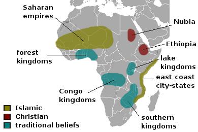 atlantic slave trade Sub-Saharan Africa's 'Age of Pre-colonial Civilization'