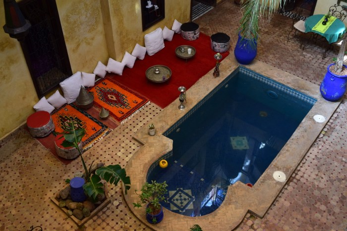 Safest countries in Africa Moroccan Riad