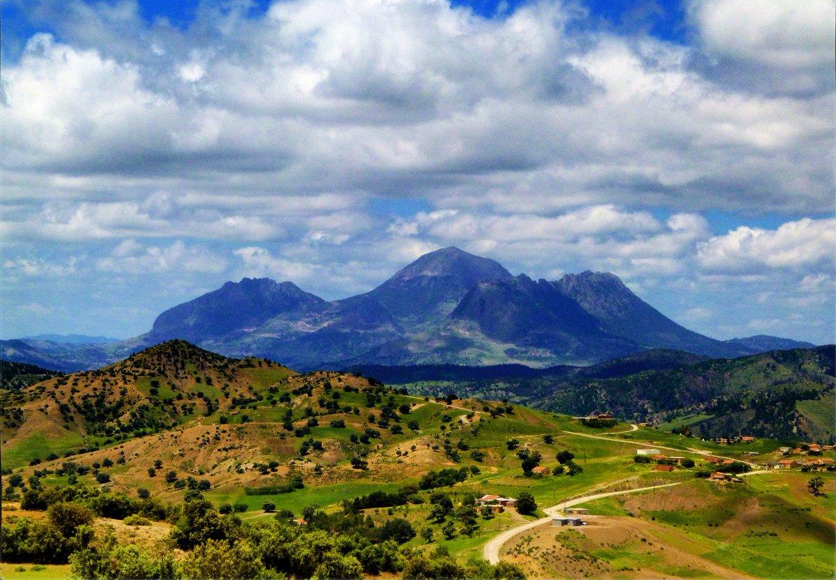 Berber kingdoms The Ouarsenis mountain range