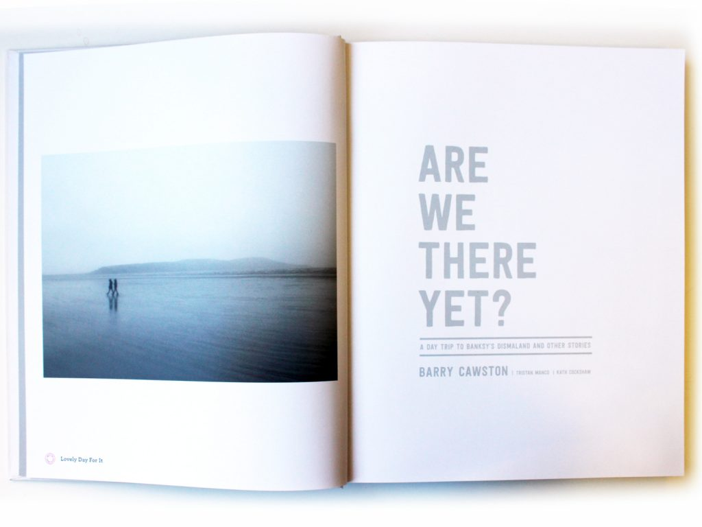 Are We There Yet? Book design