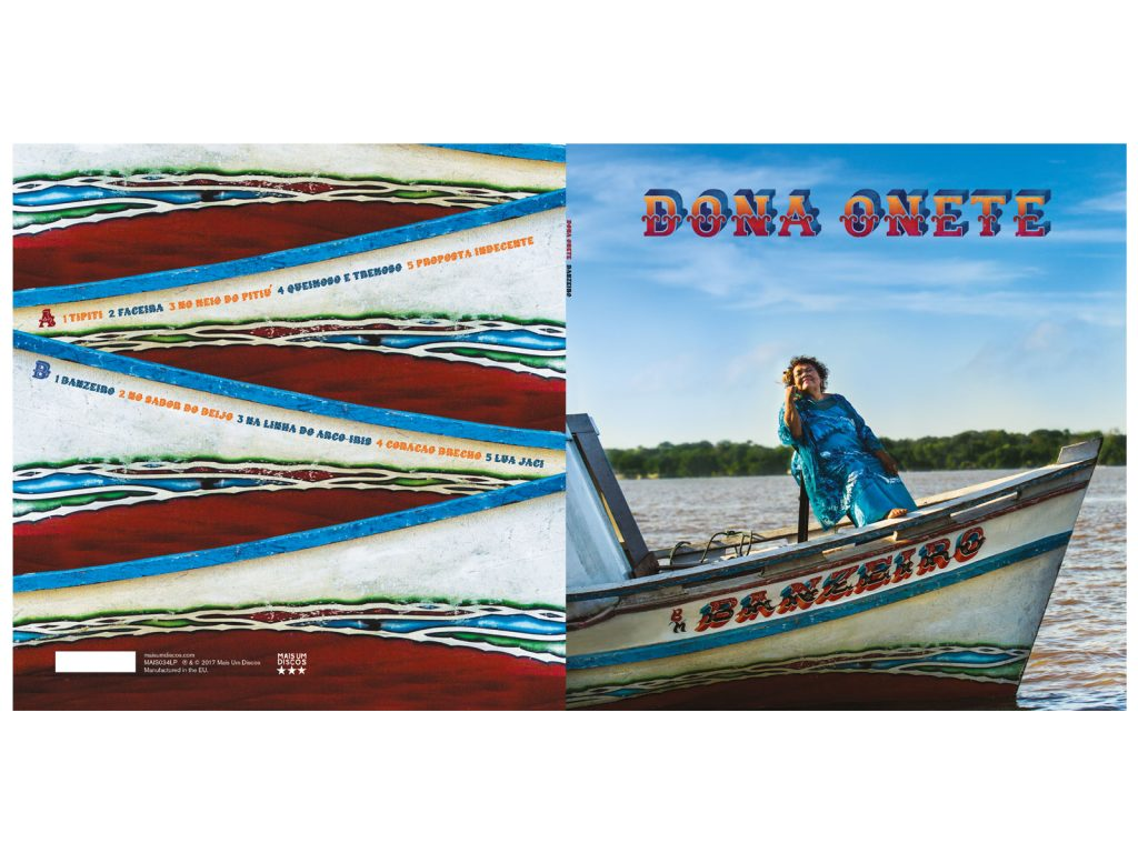 Dona Onete Music packaging
