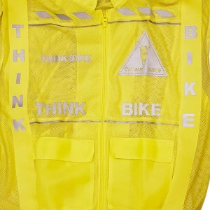 Think Bike Bib – Yellow