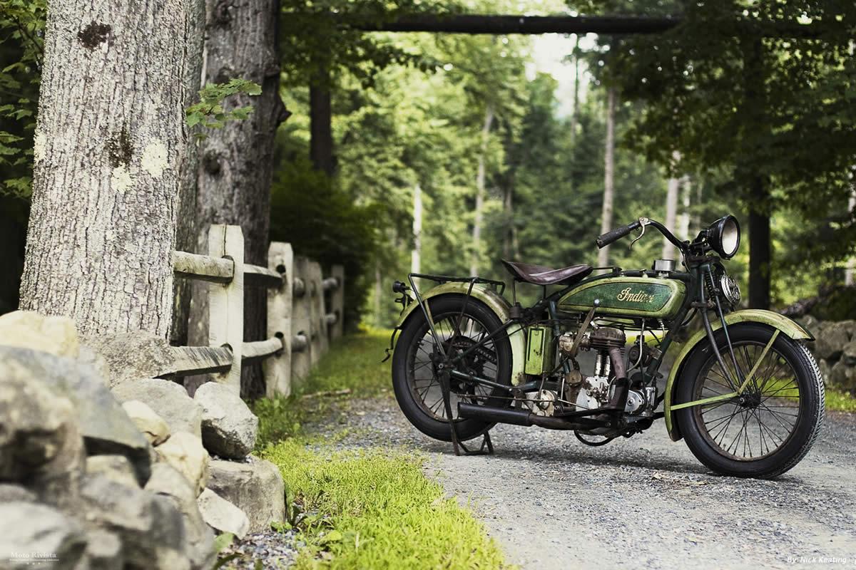 Indian Vintage bike