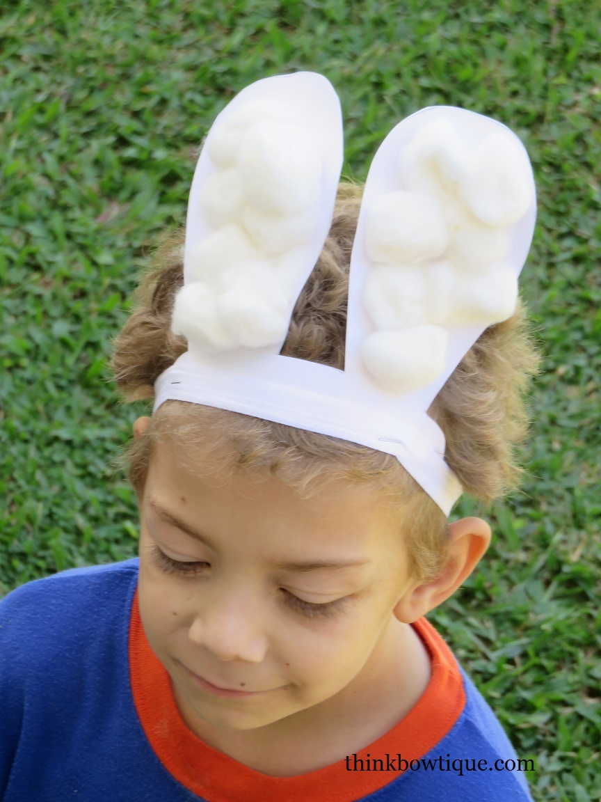 Quick Easter Bunny Ears Think Bowtique Blog