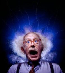 Old Man Struck by Lightning