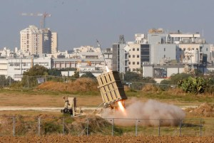ISRAEL-PALESTINIAN-CONFLICT-GAZA. IRON DOME