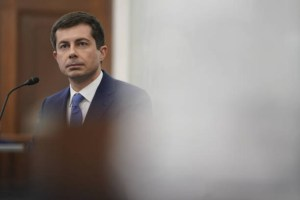 Pete Buttigieg Confirmation Hearing For Secretary Of Transportation Cabinet Before Senate Commerce Committee