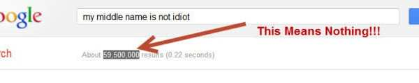 My Middle Name is Not 'Idiot'