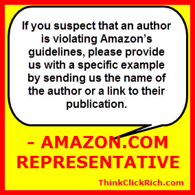How to report Kindle Violations