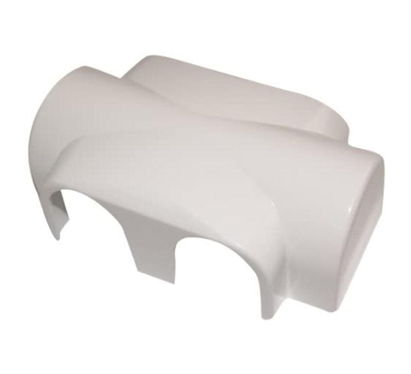 Πλαστικό κάλυμμα λευκό RAL9016