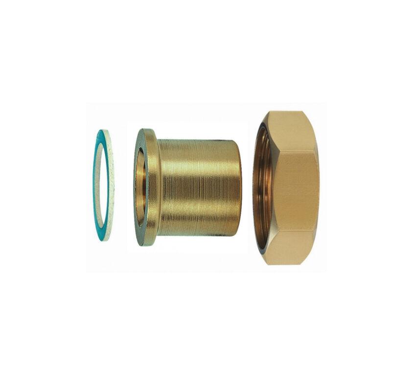 Ρακόρ κολλητό χαλκού DN32 O35mm