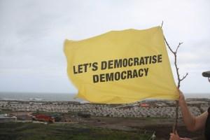 Let's democratise democracy. Daniel García Andújar